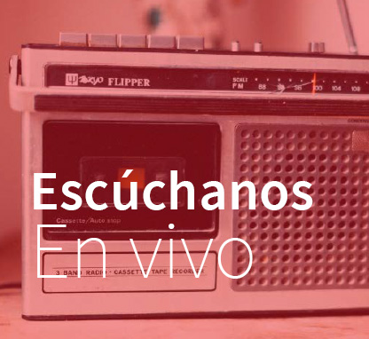 Escúchanos en vivo